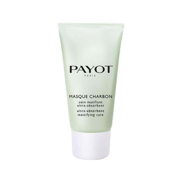 Masque Charbon - Soin matifiant ultra-absorbant, Payot, 25 €