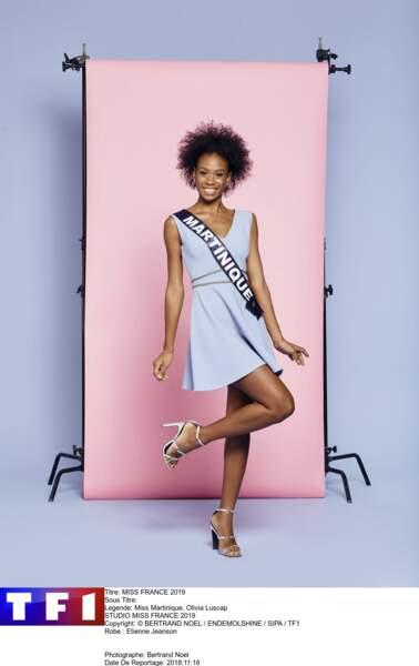 Miss Martinique, Olivia Luscap