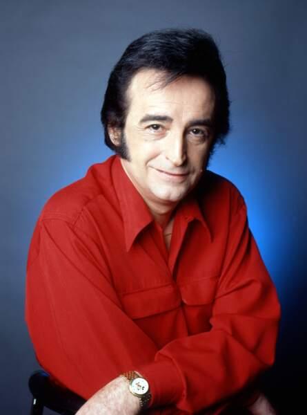 Portrait de Dick Rivers dans les années 80.