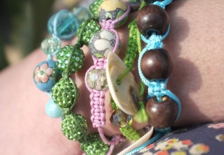 Des bracelets shamballa