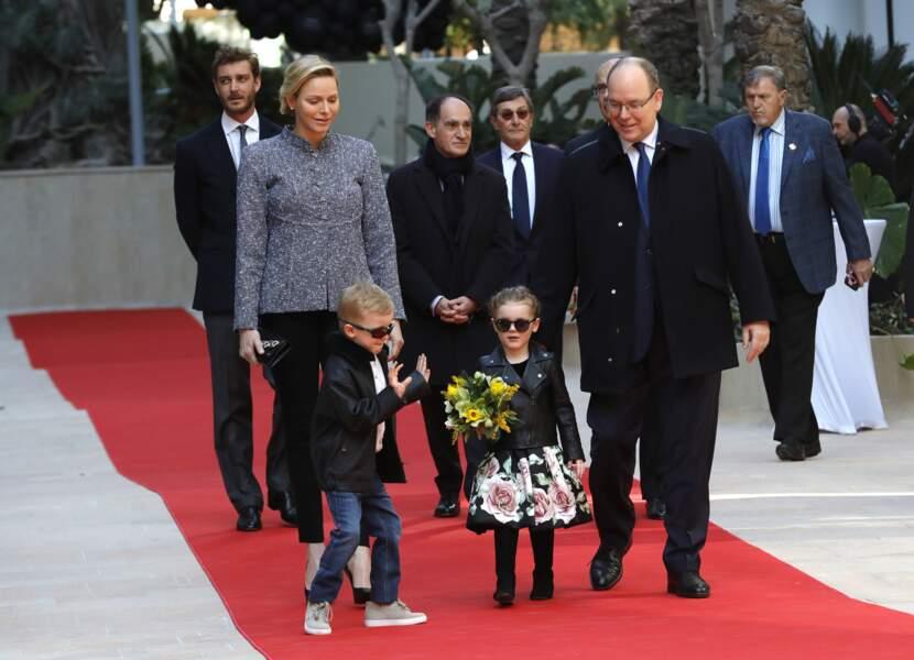 Inauguration du One Monte-Carlo et de la promenade Princesse Charlène le 22 février 2019...