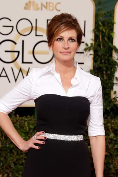 Julia Roberts à la soirée des Golden Globes en janvier 2014