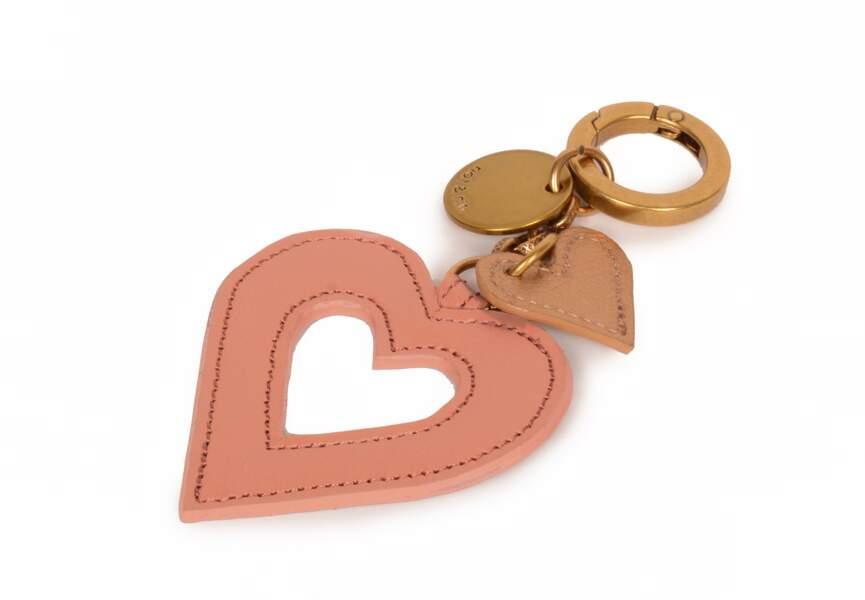 Porte-clé à coeur