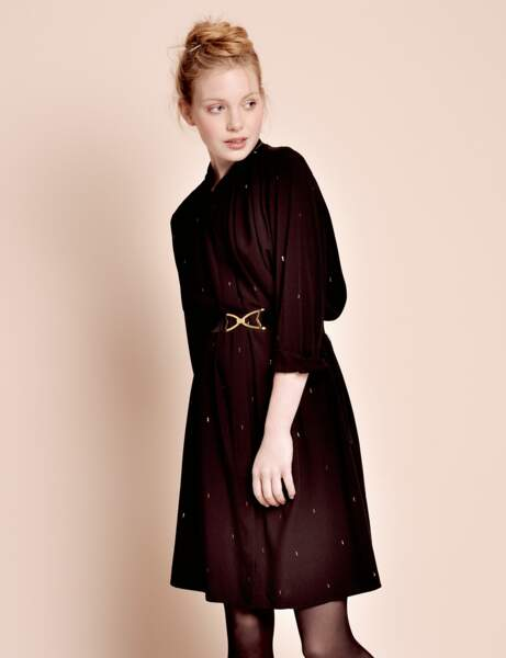 Robe d'hiver : la robe chemise
