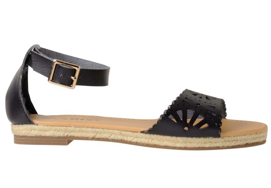 Sandales : sobres