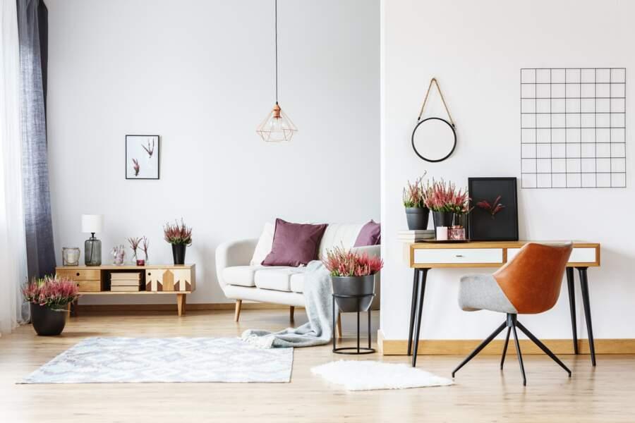 Privilégiez les meubles bas