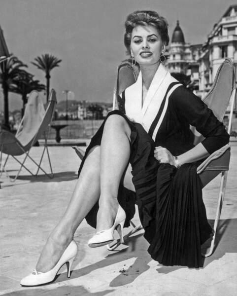 Sophia Loren en 1954