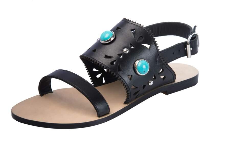 Sandales : ajourées
