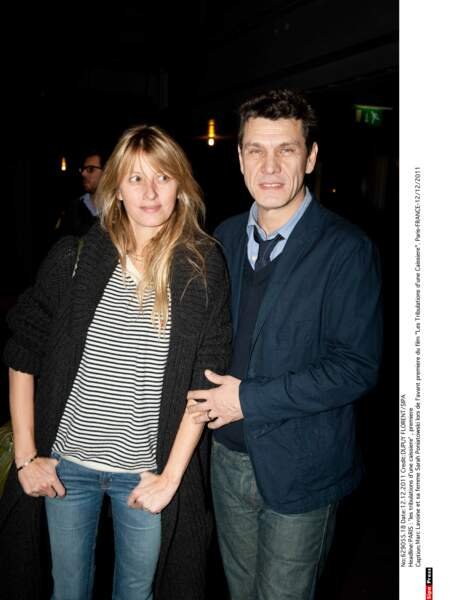 Marc Lavoine et Sarah Poniatowski, 2011