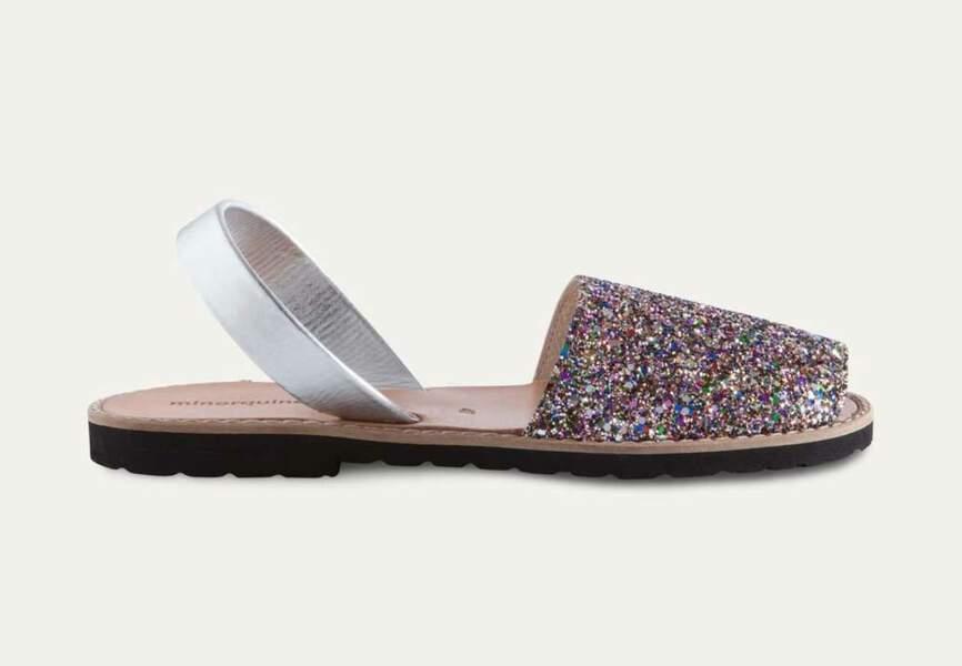 Sandales : paillettes