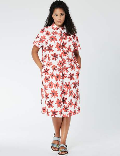 Mode ronde : la robe chemise
