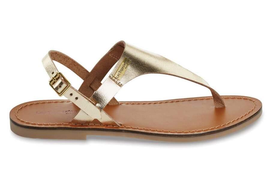 Sandales : irisées
