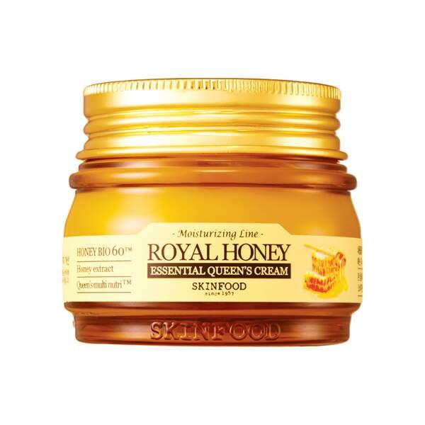 Royal Honey Essential Queen Cream - Crème Visage, Skinfood, pot 62 ml, prix indicatif : 23,90 €