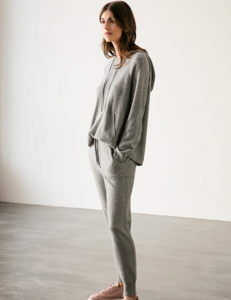 Mode cocooning : le total look cachemire