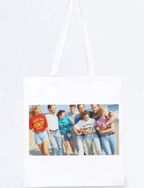 Luke Perry : le tote bag de Beverly Hills 90210