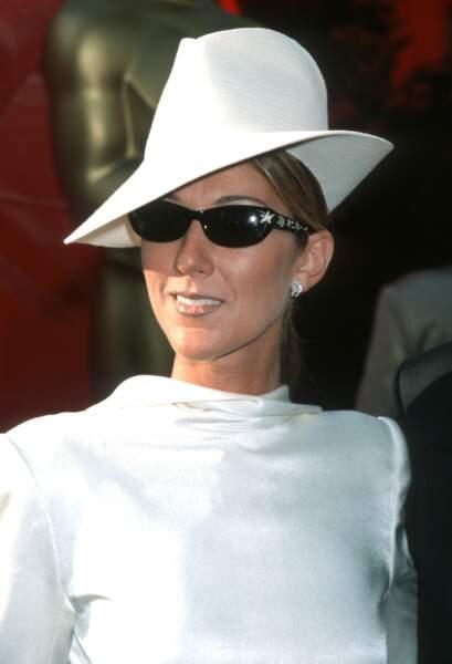 Le chapeau de Céline Dion