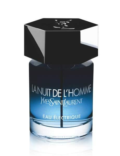 La Nuit de L'Homme Eau Electrique d'Yves Saint Laurent