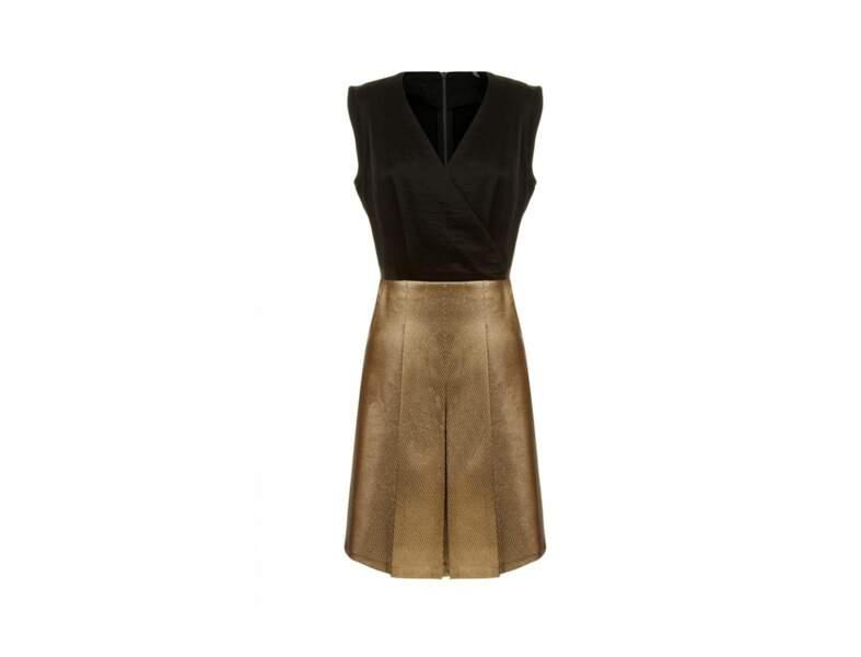 La robe bi-matière