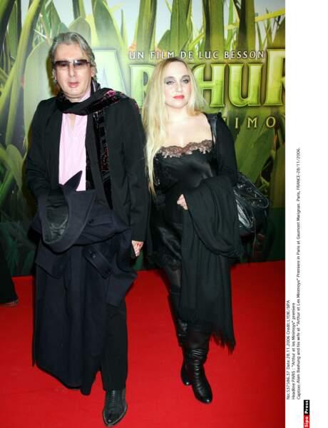 Alain Bashung et sa femme, Chloé Mons