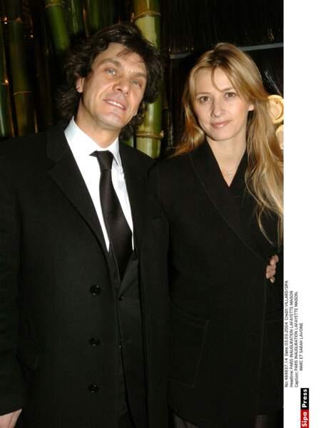 Marc Lavoine et Sarah Poniatowski, 2004