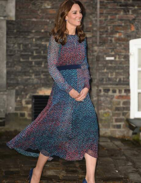Kate Middleton : la robe longue L.K.Bennett