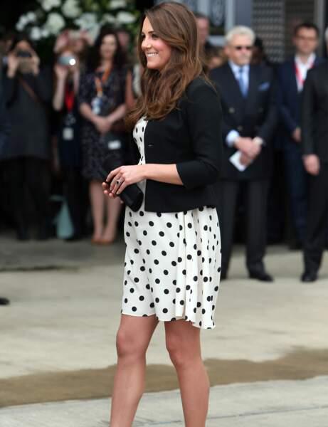 Kate Middleton : la robe à pois Top Shop