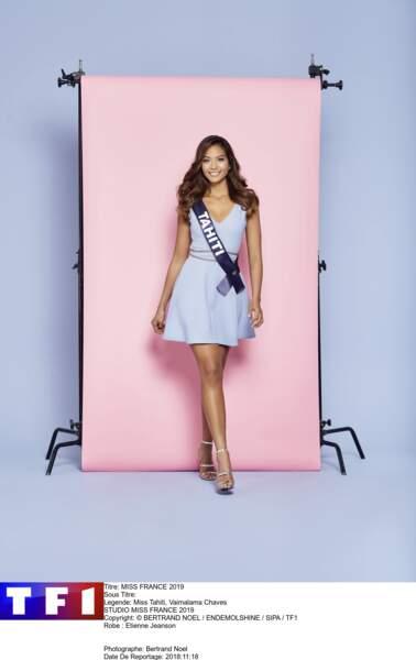 Miss Tahiti, Vaimalama Chaves