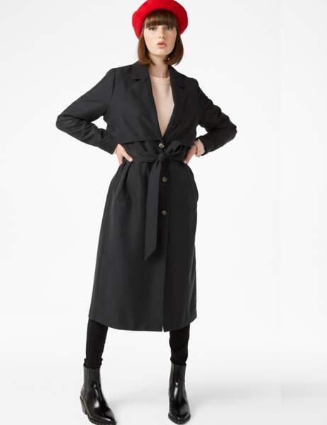 15 manteaux longs à moins de 60 euros Femme Actuelle