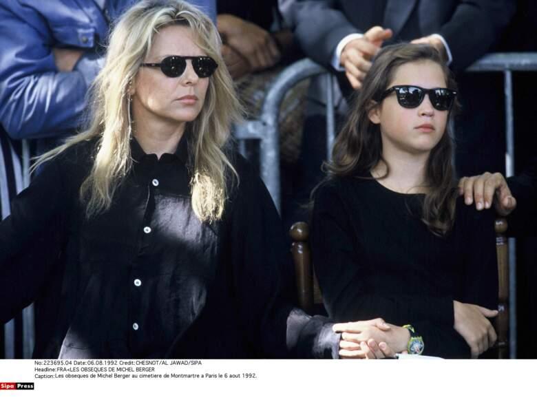 France Gall et sa fille, Pauline