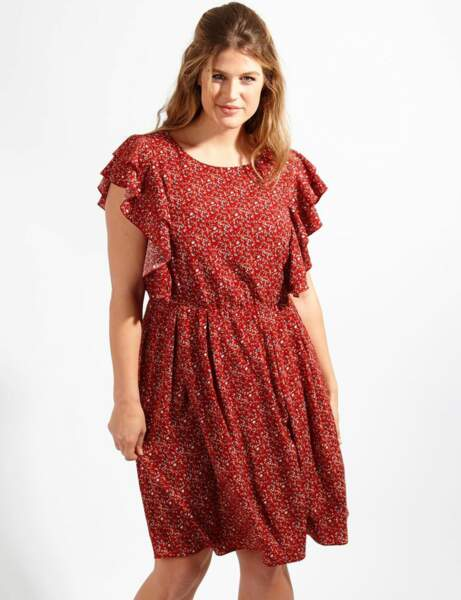 Mode ronde : la robe à volants