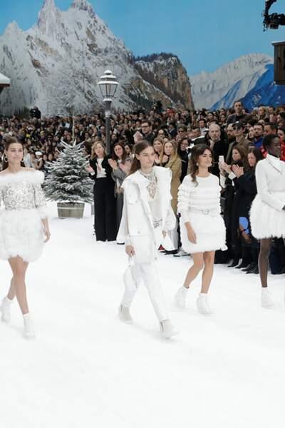 Penelope Cruz à Paris pour Chanel