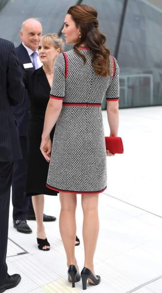 La Duchesse de Cambridge était élégante sous toutes les coutures