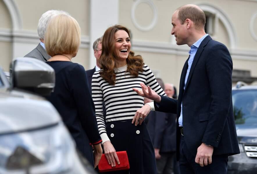 Kate Middleton et le prince William continuent de se montrer, souriant et complices...