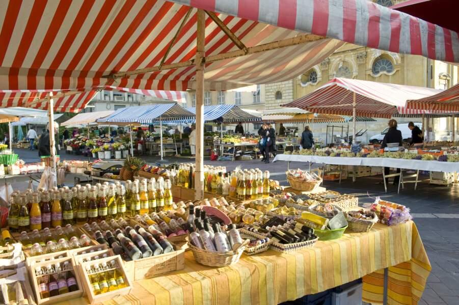 Marché du Cours Saleya Vieux Nice