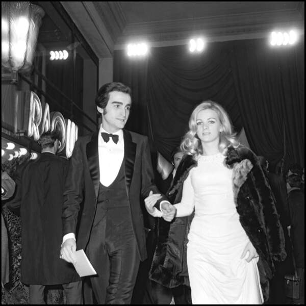 Dick Rivers et sa première épouse, Micheline, arrivent au Lido dans les années 60.