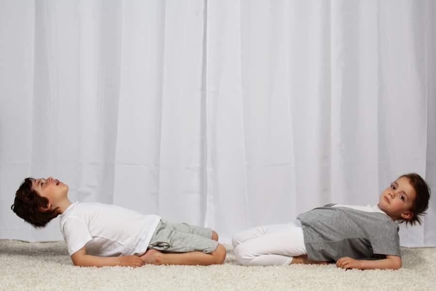 Yoga pour enfant : la position du héros