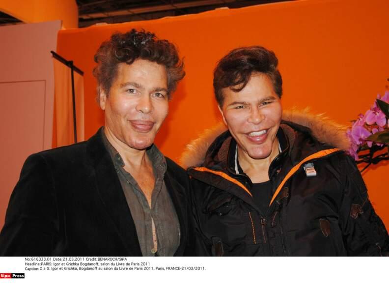 Igor et Grichka Bogdanoff : 2011