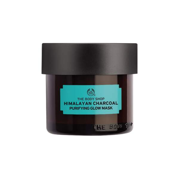 Masque Purifiant Éclat au Charbon de Bois de l'Himalaya, The Body Shop, 20 €