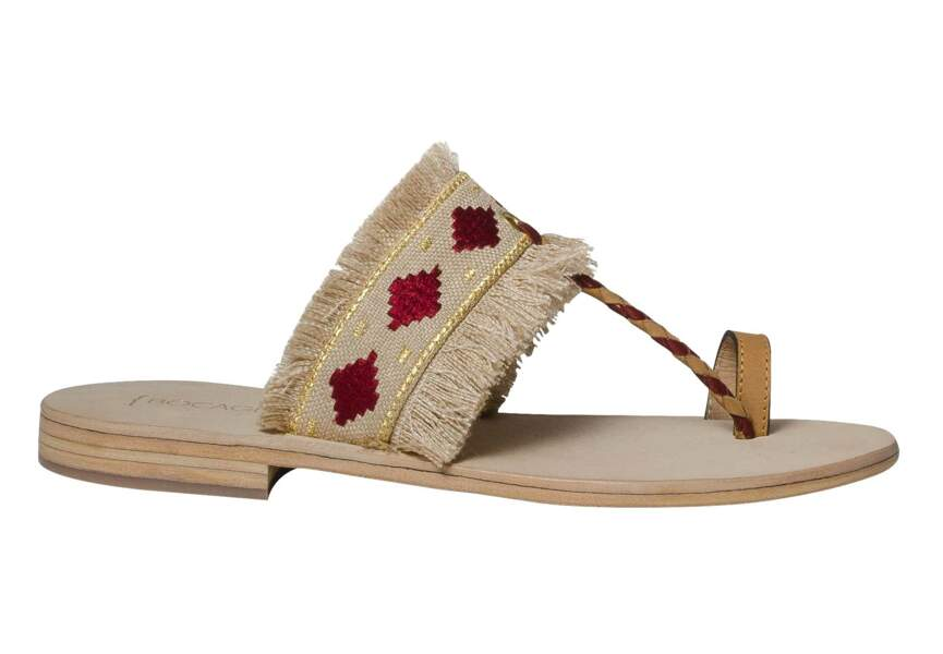 Sandales : navajo