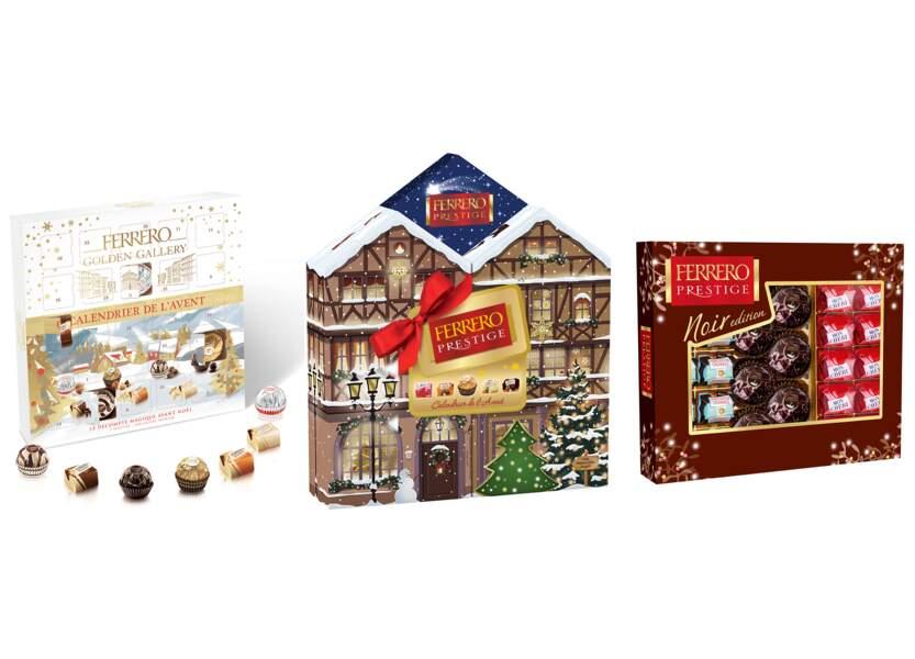 Le retour des chocolats Ferrero