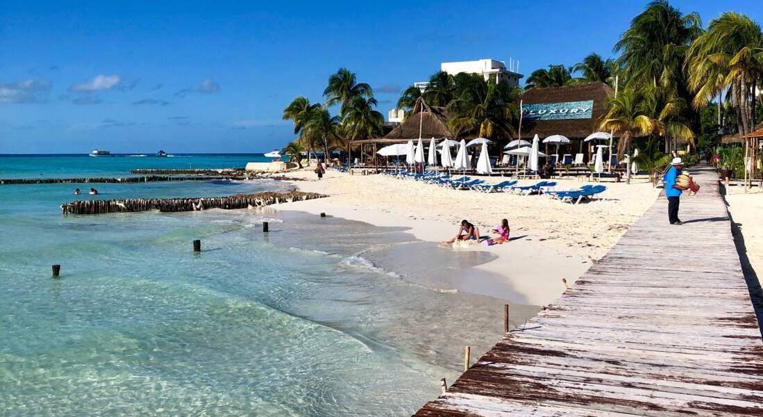 9. Playa Norte, Isla Mujeres, Mexique
