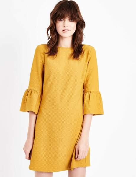 Robe d'hiver : la robe jaune
