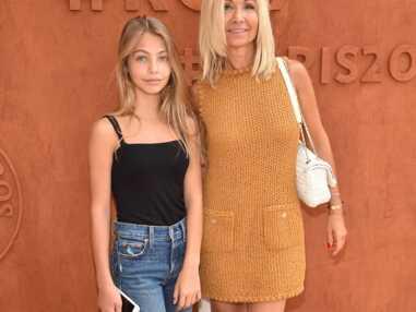 À 14 ans, Stella, la fille de Jean-Paul Belmondo, a la même frimousse que sa mère Nathy
