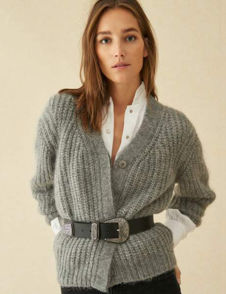 Pull gilet : chic