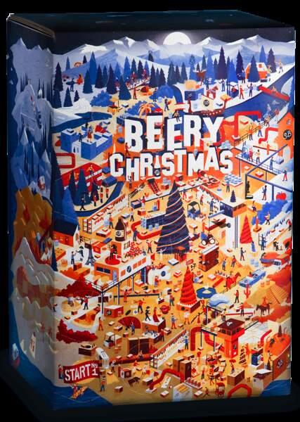 Le calendrier avec des bières dedans