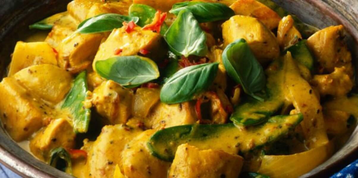 Curry de boeuf à la façon Thaï