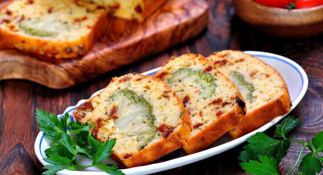 Cake au brocolis