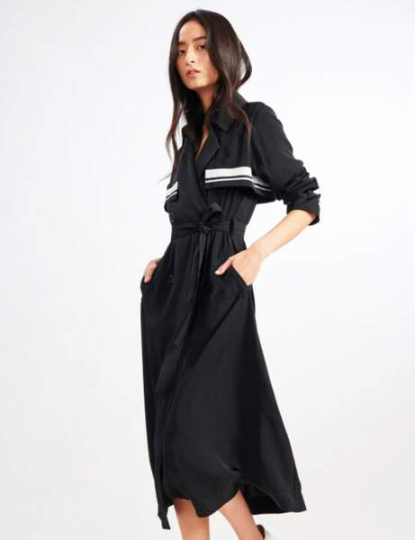 Trench tendance: sporty chic