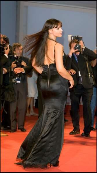 Les robes les plus sexy de Monica Bellucci : septembre 2005