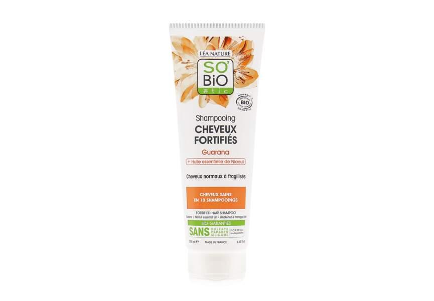 Le shampooing cheveux fortifiés So Bio Etic